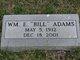 """William Elmer """"Bill"""" Adams"""