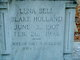 Lena Bell <I>Blake</I> Holland