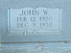 John W Holland