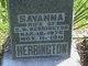 Savannah <I>Gilstrap</I> Herrington