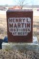 Profile photo:  Henry Lock Martin