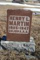 Profile photo:  Henry L. Martin