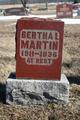 Profile photo:  Bertha L. Martin