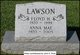Anna May <I>Russell</I> Lawson