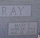 Mary Elizabeth <I>Mullis</I> McCray