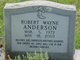 Robert Wayne Anderson