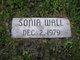 Sonia Marie Wall
