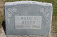Willie Elmer Alley