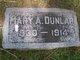 Mary A Dunlap