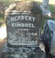 Profile photo:  Herbert Kimbrel