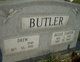 Dizza Lydia Jane <I>Carter</I> Butler