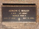 Adron G Maloy