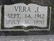 Vera Zelma Jenny <I>Bohot</I> Hensel
