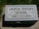 Amanda <I>Foxford</I> Sinning