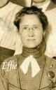 "Elfrieda Pearl ""Effie"" <I>Yost</I> Smithline"