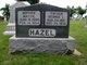 "Martha ""Mattie"" <I>Morehead</I> Hazel"