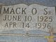 Mack Owen West Sr.