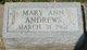 Mary Ann Andrews