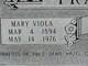 Mary Viola Fraser