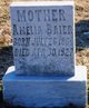 Mary Amelia <I>Becker</I> Baier