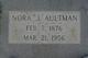 Nora Della <I>Jones</I> Aultman