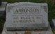 Walter Haines Aaronson