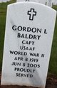 "Capt Gordon L ""Mike"" Baldry"