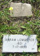 Profile photo:  Abraham Lemaster