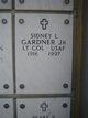 Sidney Lee Gardner Jr.