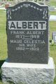 "Profile photo:  Maud Celestia ""Celeste"" <I>Ranstead</I> Albert"