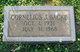 Cornelius J. Backe