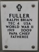 Profile photo:  Ralph Brian Fuller