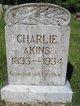 Profile photo:  Charlie Akins