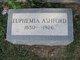 Profile photo:  Euphemia Maggie <I>Lunsford</I> Ashford