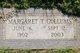 Profile photo:  Margaret <I>Terrell</I> Collums