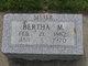 Bertha M Wickman