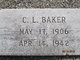 Profile photo:  Clarence Lee Baker
