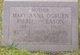 Mary Anna <I>Ogburn</I> Ribble Eason