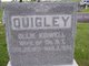 Ollie <I>Kidwell</I> Quigley