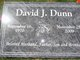 "Profile photo:  David Joseph ""Dave"" Dunn"