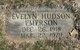 Profile photo:  Evelyn <I>Hudson</I> Emerson