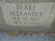 Profile photo:  Blake Alexander