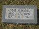 Addie Rhodaline <I>Hardin</I> Martin
