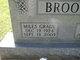 Miles Grady Brooks