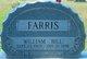 """Profile photo:  William """"Bill"""" Farris"""