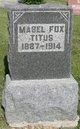 Mabel <I>Fox</I> Titus