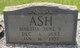 Martha Jane <I>West</I> Ash