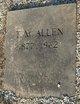 "Thomas Monroe ""Tom"" Allen"