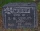"Profile photo:  Emma Murnice ""Murnie"" <I>Shaw</I> Cowles"