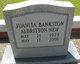 Juanita Albritton <I>Bankston</I> New